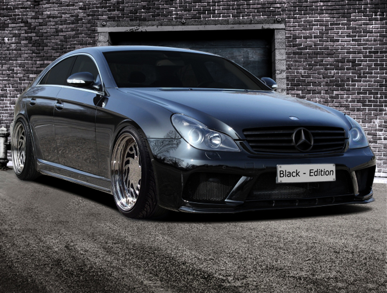 mercedes cls w219 inkl amg black edition bodykit. Black Bedroom Furniture Sets. Home Design Ideas